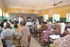 Town Hall meeting at Bebeji Community in Kano State