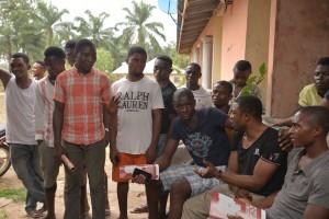 Town Hall Meeting at Ikom Community, Calabar.