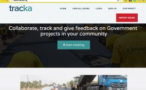 Tracka Website