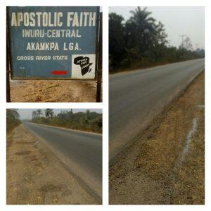 Iwuru Akamkpa road