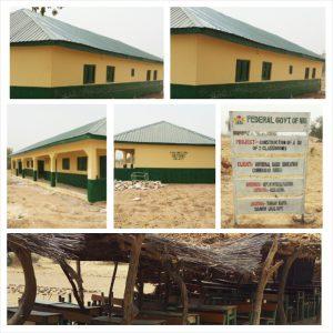 construction of two classrooma at unguwar kanta -tukurwakamba kebbi state
