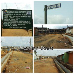 Owodunni street, Agbado Oke LCDA