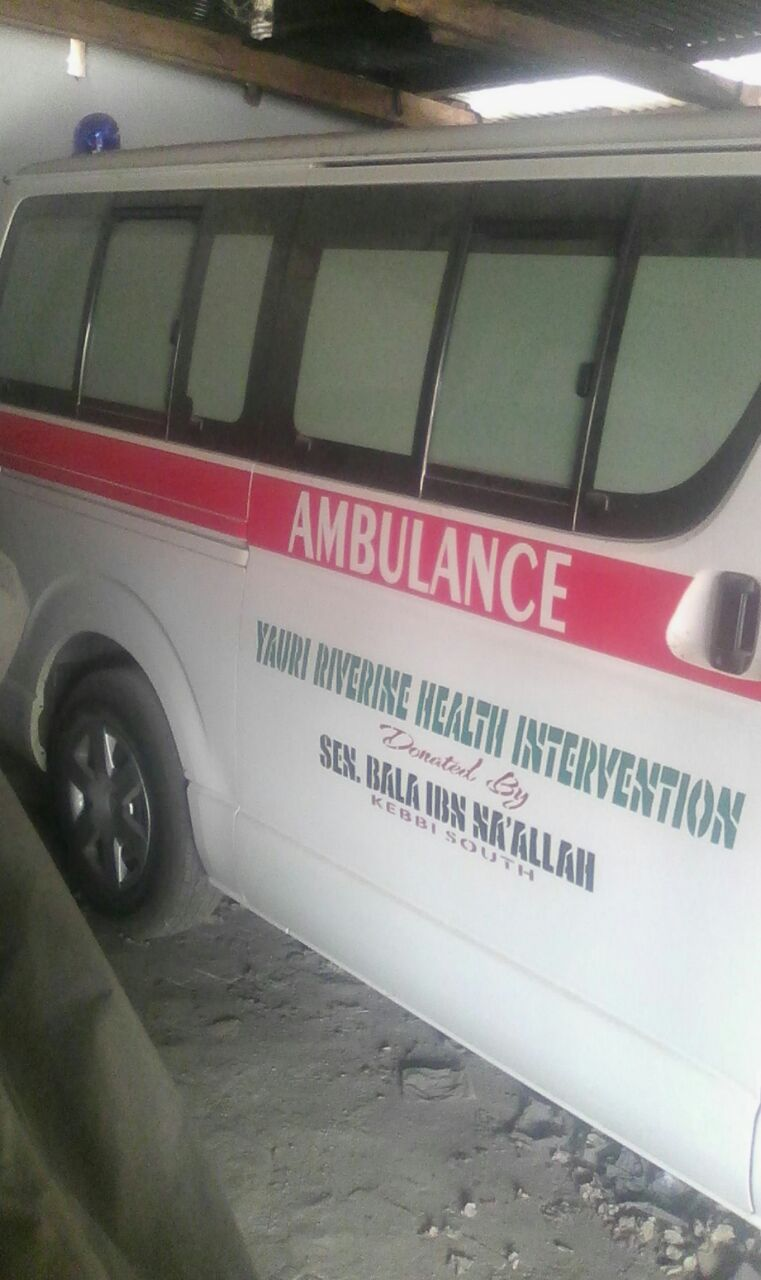 Toyota ambulance vehicle Delivered To Yauri General Hospital