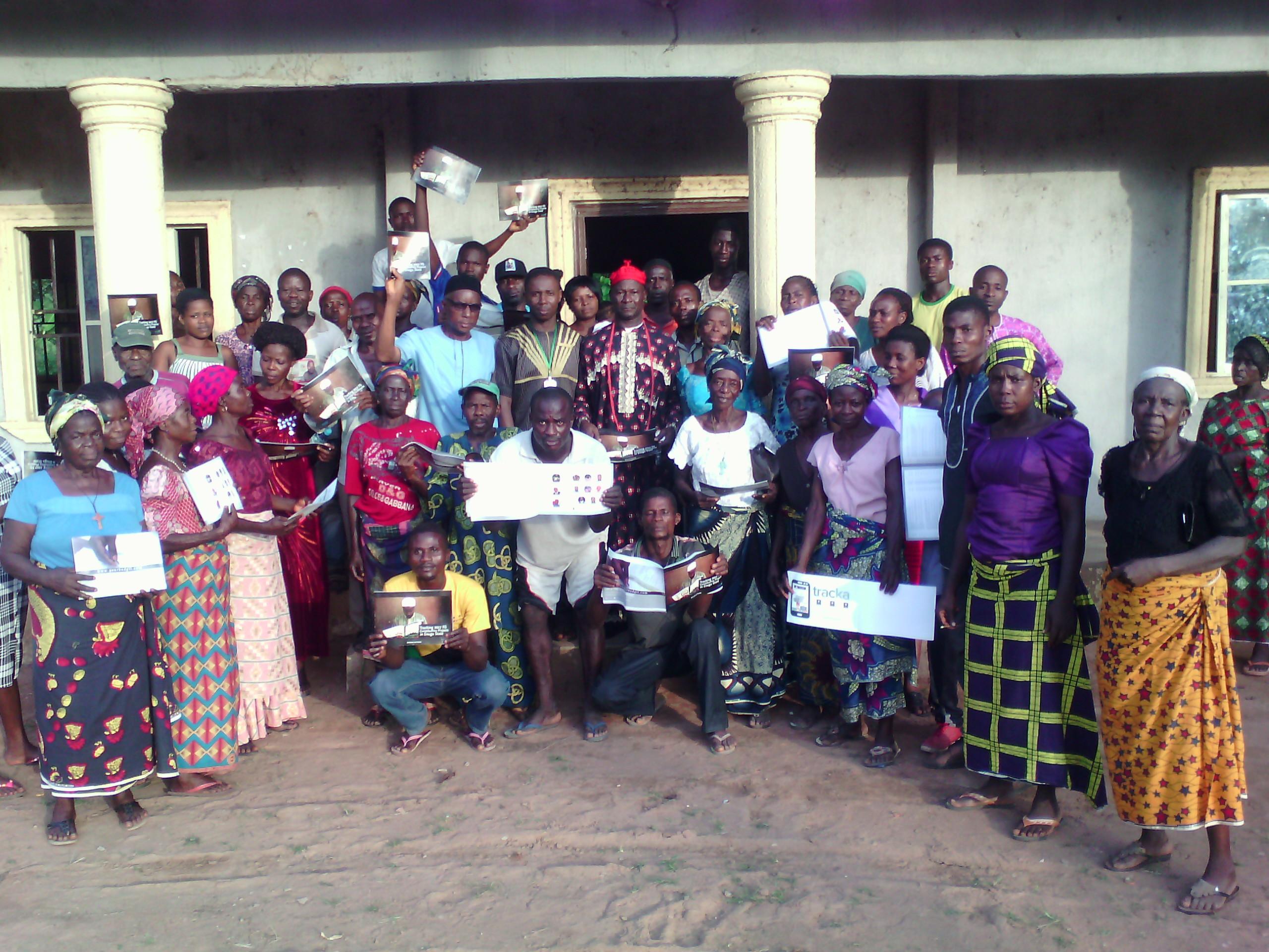Residents Efulu Community
