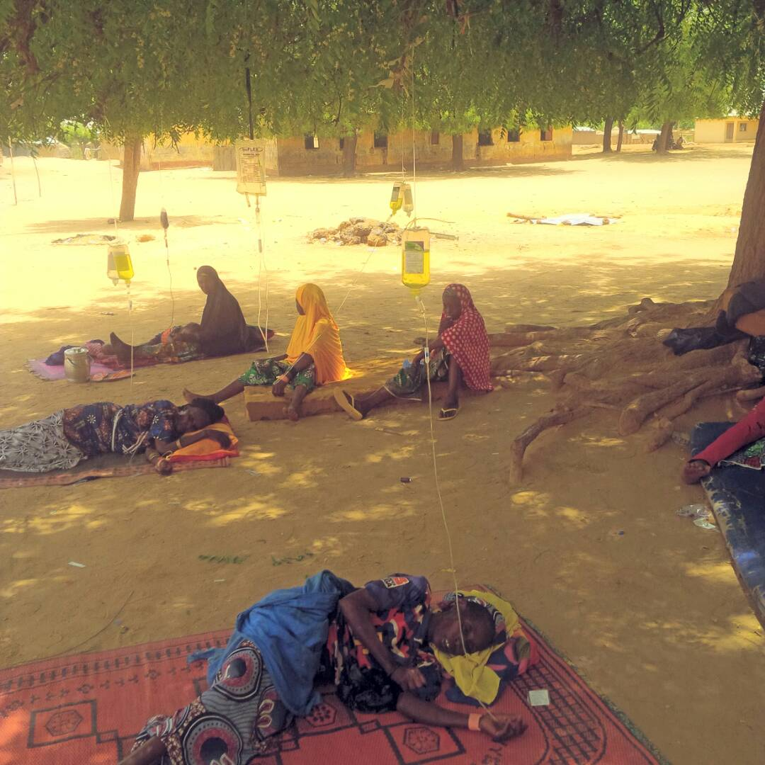PHC KAFFE: WHERE PATIENTS RECEIVE HEALTHCARE UNDER A TREE