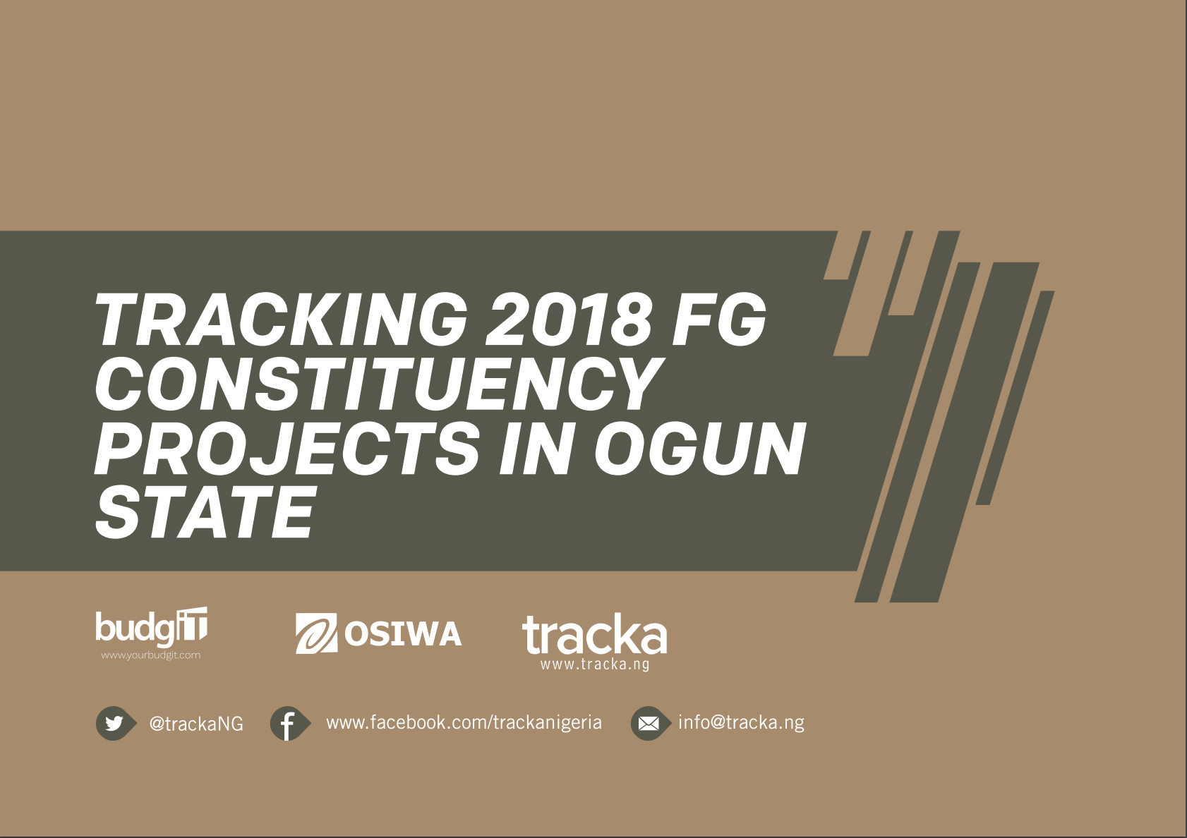 2018 FG Constituency Projects in Ogun State