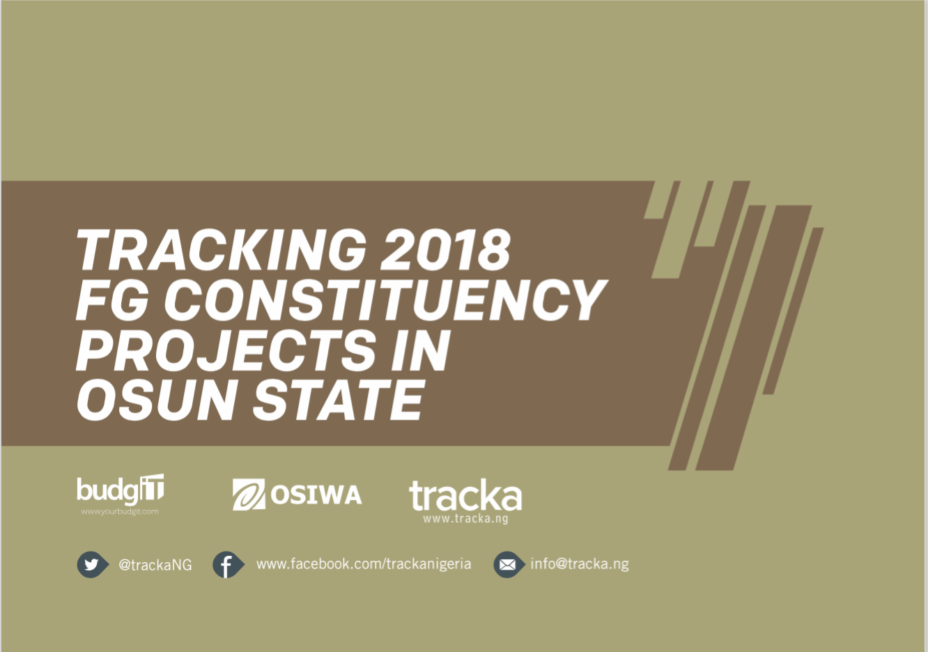 2018 FG Constituency Projects Osun State