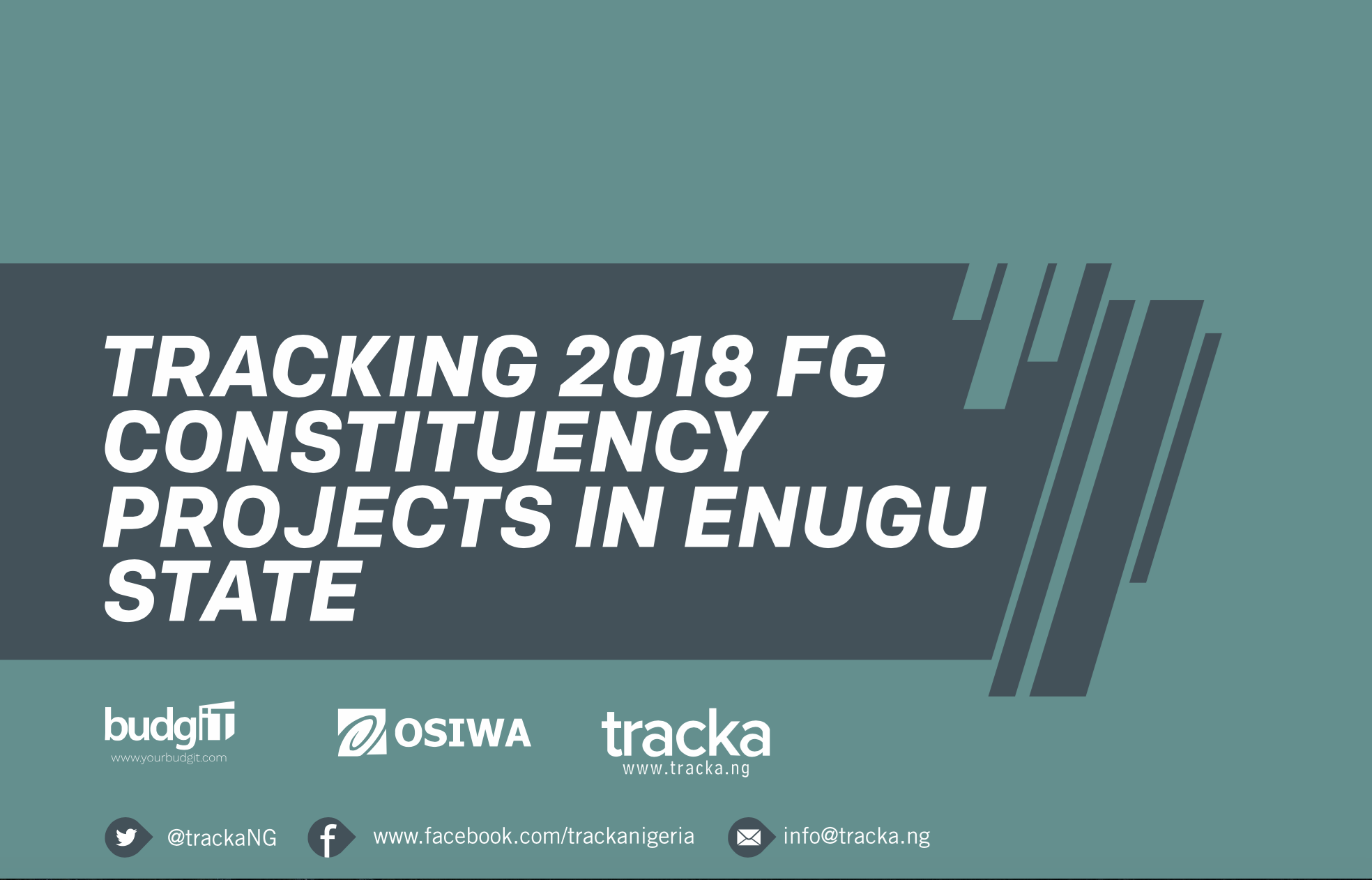 2018 FG Constituency Projects in Enugu State