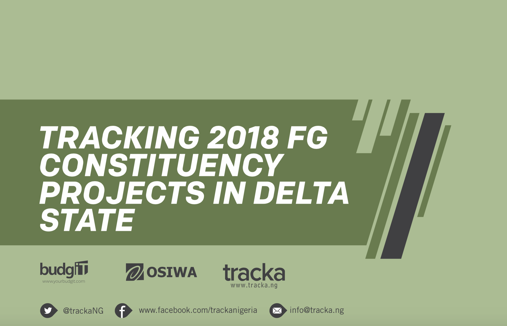 2018 FG Constituency Projects in Delta State