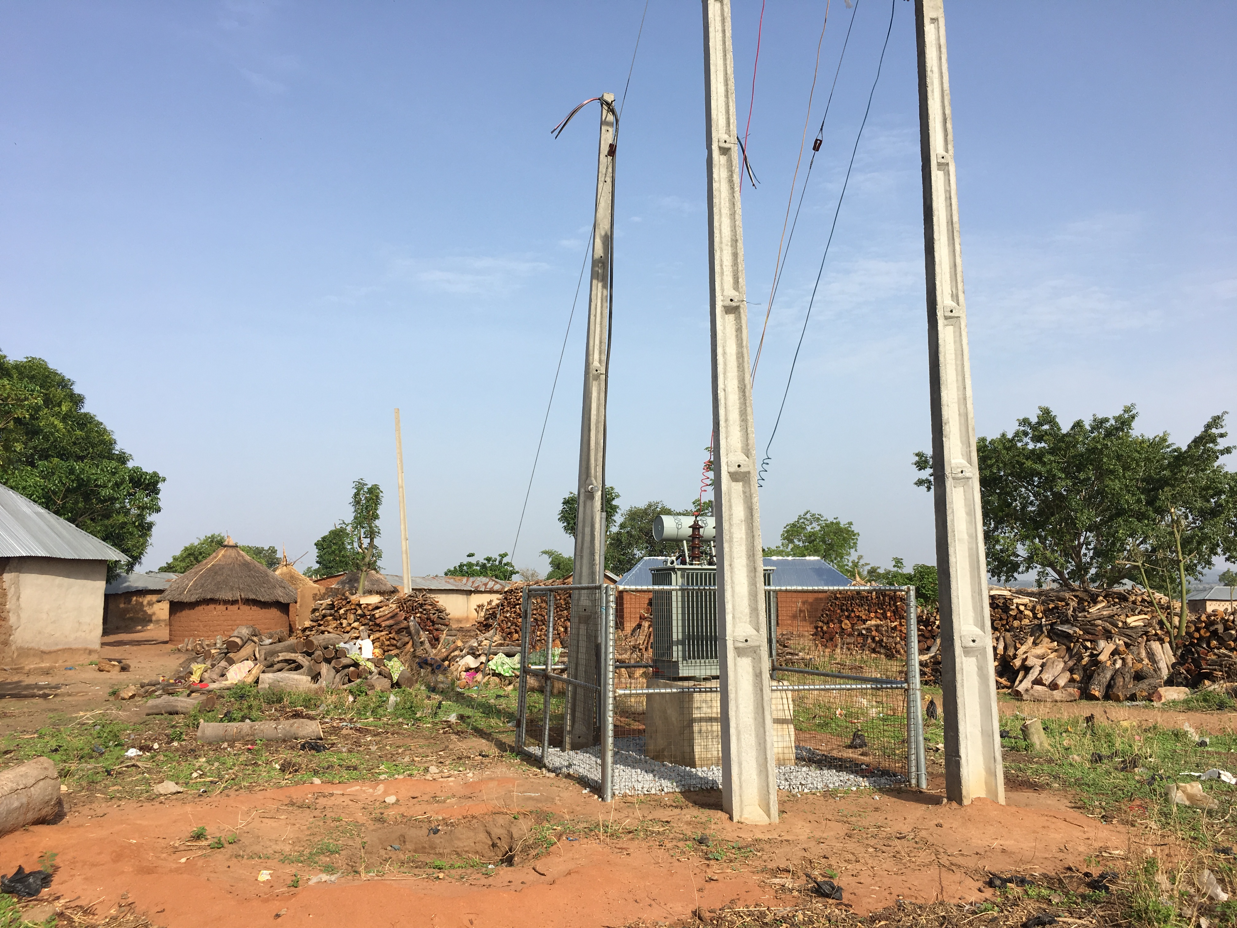 This Rural Community in Nigeria is Eager to See Electricity For The First Time in 30 Years